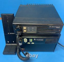 Motorola Radius Base Station And Field Unit Two Way Radio 2 Channel Astron Amp