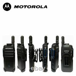 Motorola TLK100 Wave OnCloud 4G LTE/WiFi Two Way Radio with Nationwide Coverage
