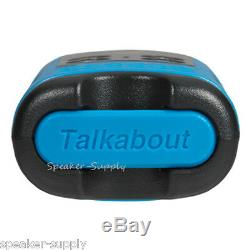 Motorola Talkabout T100TP Walkie Talkie 15 Pack Set 16 Mile Two Way Radios Blue