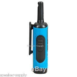 Motorola Talkabout T100 Walkie Talkie 12 Pack Set 16 Mile Two Way Radios Blue
