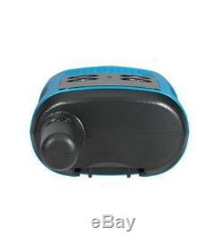 Motorola Talkabout T100 Walkie Talkie 8 Pack Set 16 Mile Two Way Blue Radios
