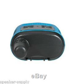 Motorola Talkabout T100 Walkie Talkie 8 Pack Set 16 Mile Two Way Radios Blue