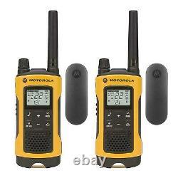 Motorola Talkabout T402 4 Pack Walkie Talkie 35 Mile Two Way Radio Waterproof
