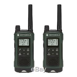 Motorola Talkabout T465 2 Pack Walkie Talkie Set 35 Mile Two Way Radio