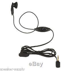 Motorola Talkabout T465 Walkie Talkie 6 Pack 35 Mile Two Way Radio Case Earbuds