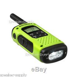 Motorola Talkabout T605 H2O Walkie Talkie 4 Pack Set Two Way Radio Waterproof