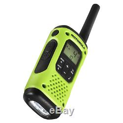 Motorola Talkabout T605 Two-Way Radio, 2 Pack, Lime