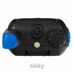 Motorola Talkabout T800 Two-Way Radios, 2 Pack, Black/Blue