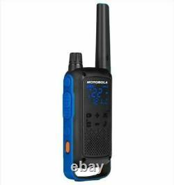 Motorola Talkabout T800 Walkie Talkie 4 Pack Set 35 Mile Two Way Bluetooth App