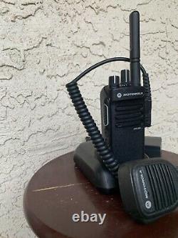 Motorola XPR3300e UHF 403-512Mhz 4W WIFI/BT Two Way Radio DMR Free Programming