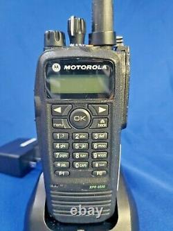 Motorola XPR6550 DMR UHF Portable Radio