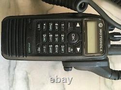 Motorola XPR6550 Digital Portable Two Way Radio Black