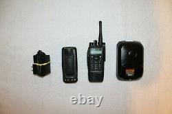 Motorola XPR6550 UHF Digital Two-Way Radio with Accessories (AAH55QDH9LA1AN)