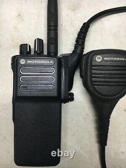 Motorola XPR7350 VHF MotoTRBO DMR Digital Portable Two Way Radio AAH56JDC9KA1AN