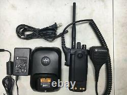 Motorola XPR7350e VHF MotoTRBO DMR Digital Portable Two Way Radio