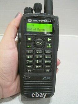 Motorola XPR 6550 UHF 450-512 Mhz 4W Digital Two way Radio
