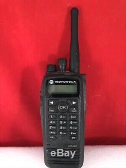 Motorola XPR 6550 XPR6550 UHF 403-470 MHz Mototrbo DMR Digital Two-Way Radio