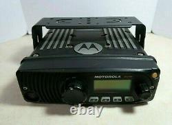 Motorola XTL1500 UHF 450-520 MHz SmartZone P25 Digital Mobile Radio M28SSS9PW1AN