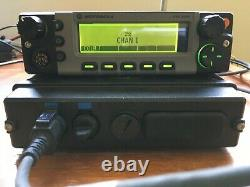 Motorola XTL5000 UHF 450 520MHz Remote Mount with O5 Control Head M20SSS9PW1AN