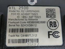 Motorola XTL-2500 Two Way Radio 700-800 MHZ M21URM9PW2AN P25 DIGITAL