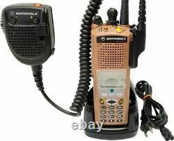 Motorola XTS5000 III VHF P25 9600 Digital Radio ADP DES SmartZone H18KEH9PW7AN