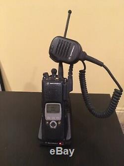 Motorola XTS5000 Two Way Radio APCO 25 Digital withCharger, Mic, Battery and Antenna