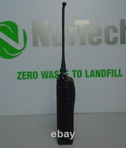 Motorola XTS5000 Two Way Radio H18UCF9PW6AN BLUE with Antenna & Battery
