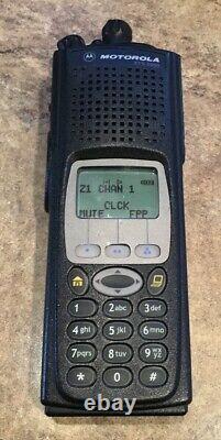 Motorola XTS 5000 800 mhz M3 FPP Latest Firmware Incl Impres Battery & Antenna