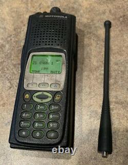 Motorola XTS 5000 800 mhz Model 3 With FPP DES-OFB/XL Latest Firmware NewAntenna