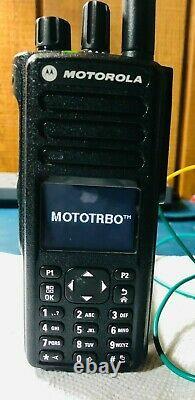 Motorola Xpr 7550e Uhf Digital Display Portable Two-way Radio Aah56rdn9wa1an