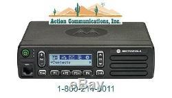 NEW MOTOROLA CM300d ANALOG VHF 136-174 MHZ, 25 WATT, 99CH MOBILE TWO WAY RADIO
