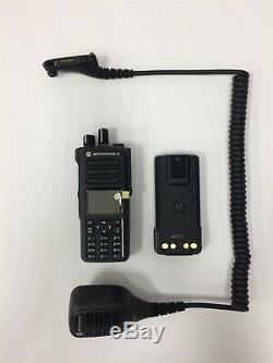 NEW MOTOROLA MotoTRBO XPR 7550e UHF DIGITAL TWO WAY RADIO Wifi Bluetooth