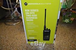 New 2018 Motorola RDU4160D 16 Channel 4 Watt UHF On-Site Two-Way Business Radio