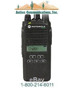 New Motorola Cp185, Vhf 136-174 Mhz, 5 Watt, 16 Channel Display Two Way Radio