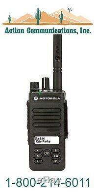 New Motorola Xpr 3500 Vhf 136-174 Mhz, 5 Watt, 128 Channel Two Way Radio