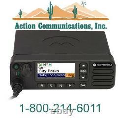 New Motorola Xpr 5550, Uhf 450-512 Mhz, 1-40 Watt, 1000 Channel Two Way Radio
