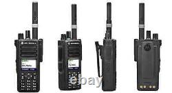 New Motorola Xpr 7550, Uhf 403-512 Mhz, 4 Watt, 1000 Channel Two Way Radio