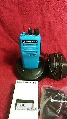 Red or blue Motorola CP200D UHF Full Analog and Digital Two-Way Radio 403-470mhz