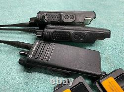 THREE (Unprogrammed) Motorola XPR 7380 32 Channel Portable Two Way Radios