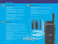 TLK 100 Motorola WAVE OnCloud Two-Way Radio with 4G LTE WiFi Nationwide Coverage