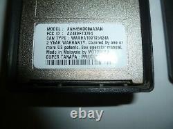 TWO MOTOROLA PR860 136-174 MHz VHF 16Ch 5W Two Way Radio AAH45KDC9AA3AN ya304