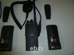 TWO MOTOROLA PR860 136-174 MHz VHF 16Ch 5W Two Way Radio AAH45KDC9AA3AN yc480
