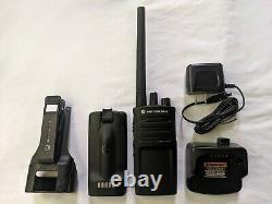 Used Motorola RMV2080 VHF Two-way Radio 2 watts 8 channels