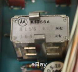 Vintage Motorola Super Consolette High VHF 136-174MHz Two Way Radio, 40W Mocom