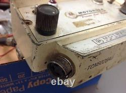 Vintage Motorola TCN6026AG Control Head with Cables Attached, Untested