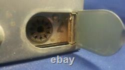 Vintage Motorola Twin V Two Way Radio T43GGV-1 TA139 6/12 VOC Untested PARTS