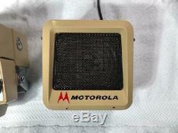 Vintage Motorola Two Way Radio with Scanner, Motran, Motrac, Mocom, Mocom-70