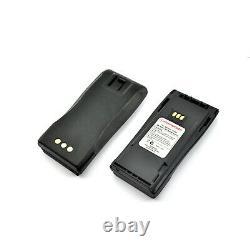 10x 1800mah De Haute Qualité Two Way Radio Batterie Pour Nntn4851 Motorola Cp200 Cp180