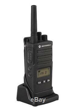 1 Motorola Rmu2080d Uhf Two Way Radio Talkie-walkie Avec Les Navires Ptt Ecouteur Rapide