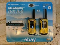 1 Paire Motorola Talkabout Waterprooof, Floating, Two-way Radio, Talkie Walkie